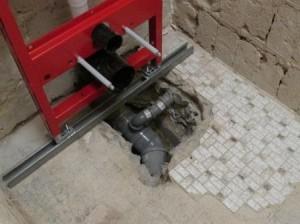 Auch ein Betonboden muss weichen, wenn neue Anschlüsse erforderlich sind. (Quelle: Rainer Burggraf)