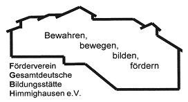 Seit 1986 aktiv: Förderverein Gesamtdeutsche Bildungsstätte Himmighausen e.V.