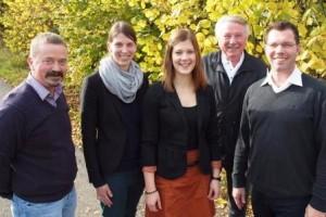 Organisatoren und Referenten: Alfons Wrenger, Frau Dr. Sandra Legge, Sandra Zengerling, Heinz Vatheuer, BM Rainer Vidal
