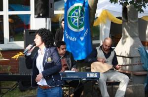 Internationale Musik sorgte für Unterhaltung. (Foto: Stefanie Gradt)