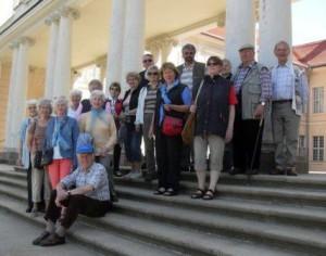 2013 - Zu Besuch in Sanssouci in Potsdam. (Quelle: F.G.B.H.)
