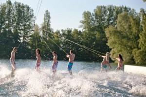 Das ist sicher: Es wird nass, wenn vom 27.-29. Juni das Eventwochenende in Paderborn-Sande stattfindet. (Quelle: http://www.wasserski-paderborn.de)