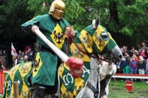 In Xanten wurde das Mittelalter lebendig. (Quelle: djoNRW)
