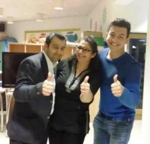 """Der Vorstand von Terno Drom. Gemeinsam hat man in den vergangenen Jahren bei dem Projekt """"be young & roma"""" viel bewegt. (Quelle: Terno Drom)"""