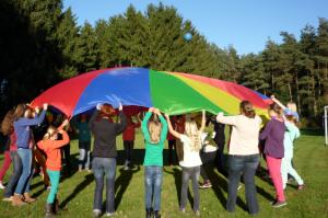 Vom 24.-26.10.2014 bestimmen im Jugendgästehaus der Franziskaner in Wiedenbrück die Mädchen das Programm.