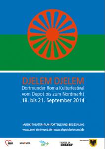 Der Name des Festivals, DJELEM DJELEM, ist nach dem gleichnamigen Lied, der internationalen Hymne der Rom benannt.