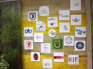 djo-Logos beweisen: Viele verschiedene Einflüsse prägen bis heute den Verband (Quelle: Dr. Christian Kahl)
