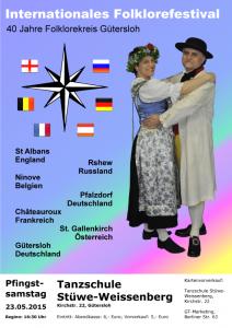Zum 40-jährigen Jubiläum bietet der Folklorekreis Gütersloh ein internationales Programm (Quelle: Folklorekreis Gütersloh)
