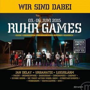 Bei den Ruhrgames ist für jeden was dabei. (Quelle: www.ruhrgames.de)