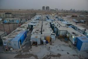 Ein Flüchtlingscamp in Ankawa/Irak. Rund 4,5 Millionen Syrer leben derzeit in den Nachbarländern ihrer früheren Heimat. (Quelle: A Demand For Action)