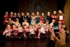 In Düsseldorf und Prag gab es viele Preise für die jungen Akteure aus Köln Porz. (Quelle: Der Spaß/ Myachkova)