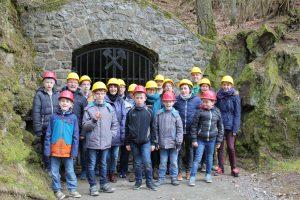 Die Edelsteinminen in Idar-Oberstein. Für die jungen Gäste eine spannende Tour (Quelle: DJO Merkstein)