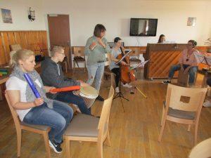 Märchenhafte Musik brachte Monika Bannenberg in die Wewelsburg (Quelle: djoNRW)