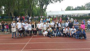 B'shayno.Willkommen. machte es möglich: Zwei Teams nahmen an dem Fußballturnier in Wiesbaden teil (Quelle: AJM)