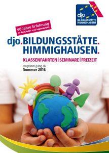 Das neue Programmheft der djo.Bildungsstätte.Himmighausen. (Quelle: djoNRW)