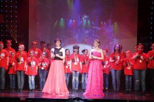 Beim Finale zeigten sich nochmal viele Akteure auf der Bühne (Quelle: Der Spaß)