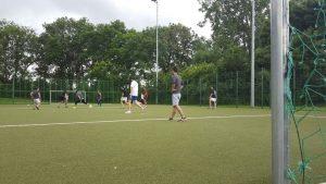 20 Jugendliche trafen sich im Paderborner Ahorn-Sportparks (Quelle: Lukas Z.)