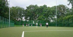 Das Fußball-Turnier von B'shayno.Willkommen. geht demnächst bestimmt in eine zweite Runde (Quelle: Lukas Z.)