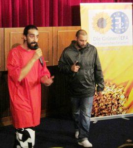 Nach fast fünf Jahren sind die Brüder Kefaet und Selami Prizreni wieder in Essen (Quelle: Dr. Christian Kahl)