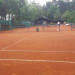 Tennistraining in Delbrück (Quelle: Youssef Hanna)