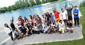 Viel Spaß hatten die Jugendlichen in Paderborn-Elsen (Quelle: B'shayno.Willkommen.)