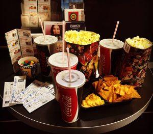 Zu einem echten Kinoabend gehört mehr als nur der Film (Quelle: B'shayno.Willkommen.)