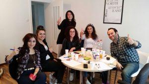 Die ersten Party-Planer trafen sich am 6. Juli in Paderborn (Quelle: Wissam Shahin)