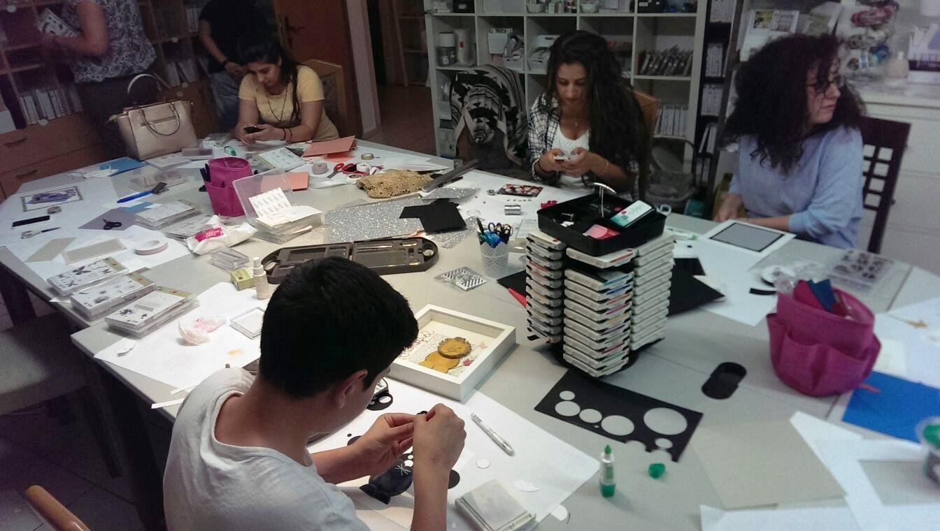Kreativ Workshop (Quelle: Seydi G.)
