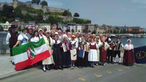 Der Folklorekreis Gütersloh in Namur (Quelle: www.folklorekreis.de)