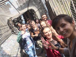 Gut gelaunt verbrachten die Jugendlichen einen Tag in Köln (Quelle: Tanja Ergün)