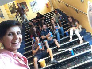 Beim Kino-Abend neue Jugendliche kennenlernen (Quelle: Tanja Ergün)