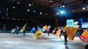 Die offizielle Eröffnungsfeier war für alle ein einmaliges Erlebnis (Quelle: www.folklorekreis.de)