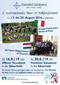 Beim 2. Internationalen Tanz- und Folklorefestival wird viel geboten (Quelle: www.danzdeel.de)