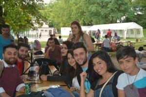 Am Ende freuten sich alle schon auf das AJM Sommerfest im nächsten Jahr (Quelle: Suryoye Ruhrgebiet)
