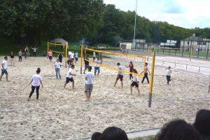 Hart & fair ging es beim Volleyball zu (Quelle: Suryoye Ruhrgebiet)