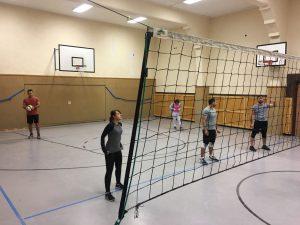 Spaß beim Volleyball in Duisburg (Quelle: B'shayno.Willkommen/Adad Zozo)