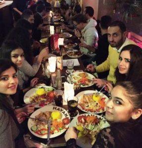 Der AJM bedankte sich mit einem gemeinsamen Abend (Quelle: Najib Dorgham)