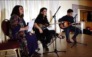 Kurdische Musik sorgte für gute Stimmung (Quelle: KSJD)