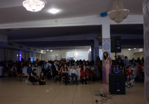 Zum Fest kamen rund 200 Menschen zusammen (Quelle: KSJD)