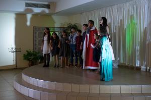 Oft und intensiv hatten die Jugendlichen für die Auftritte geprobt (Quelle: KSJD)