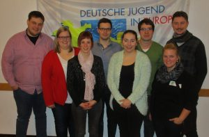 Der neue Vorstand der Detmonster (Quelle: RV Detmold-Münster)
