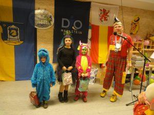 Auch die Jüngeren haben ihren Spaß beim Kinderkarneval (Quelle: DJO Merkstein)
