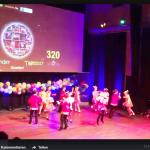 #VIDEO# Die Gruppe Blümchen (8-9 Jahre) sicherte sich den 2. Platz und den Publikumspreis. (Quelle: Raissa Myachkova/Der Spaß)
