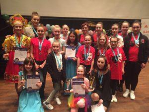 """Auch in diesem Jahr holten die Kinder und Jugendlichen von """"Der Spaß"""" bei den KinderKulturTagen in Düsseldorf viele Auszeichnungen (Quelle: Raissa Myachkova/Der Spaß)"""
