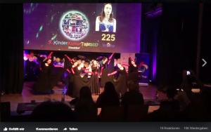 #VIDEO' Den Jurypreis in der Rubrik Gesang Solo (11-17 Jahre) erhielt Natalia Wamboldt (15 Jahre) (Quelle: Raissa Myachkova/Der Spaß)