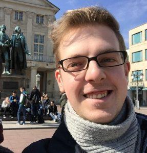 Gut gelaunt und mit viel Energie geht Christoph Blaschke an seine neue Aufgabe. (Quelle: Christoph Blaschke)