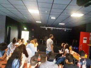 Die Seminarreihe ist erfolgreich: Die Jugendlichen bringen sich ein und haben Spaß (Quelle: djoNRW/AJM)