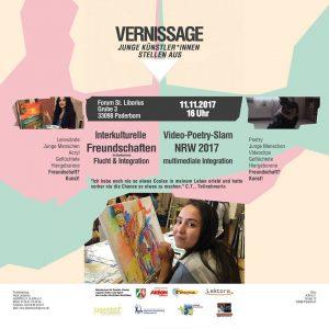 Jeder ist zur Vernissage am 11. November, 16 Uhr, Forum St. Liborius, Grube 3, 33098 Paderborn eingeladen.