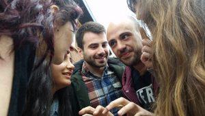 Die Jugendlichen nehmen die Projekte selbst in die Hand. (Quelle: Nora Liebetreu)