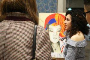 Künstlerisch setzten sich die Jugendlichen mit einem komplexen Thema auseinander (Quelle: AJM e.V./djoNRW)